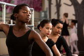 Serious Young Dancers — Stock Photo