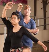 Busy Ballet Teacher — Stock Photo