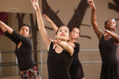 Young Ballet Students — Stock Photo