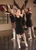 Группа студентов балета — Стоковое фото