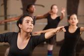 Teen Ballet Students — Zdjęcie stockowe