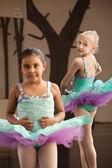 Childrens Ballet Practice — Stock Photo