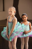Shy Ballet Students — ストック写真