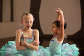 Pretty Young Ballet Students — Стоковое фото