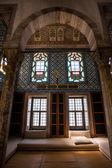 Interior of Library of Sultan Ahmed — Stock Photo