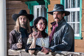 Old West Portrait — Stock Photo