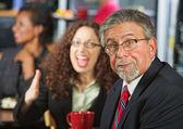Arguing Coworkers — Zdjęcie stockowe