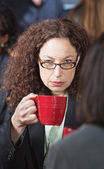 Offended Business Woman — Stock Photo