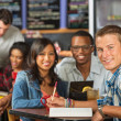 Happy Student with Friends — Stock Photo #49229077