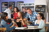 Flirting with Students — Stock Photo