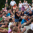Show audience at the Iowa State Fair — Stock Photo #51592909