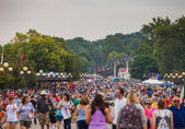 Crowd at Iowa State Fair — Stock Photo