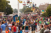 Crowd at Iowa State Fair — Photo