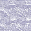 Seamless abstract hand-drawn pattern - Stockvektor