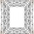 Set of vintage frames - Stock Vector