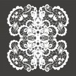 Stock Vector: Lace ornament