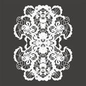 Lace ornament — Stock Vector