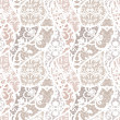 Lace vector fabric seamless pattern - Vektorgrafik