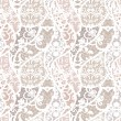 Stock vektor: Lace vector fabric seamless pattern