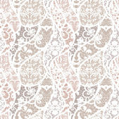 Lace vector fabric seamless pattern — Stock Vector