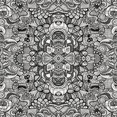 Hand drawn seamless pattern — Stock Vector