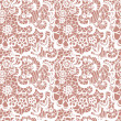 Lace seamless pattern with flowers — Stock Vector #27087031