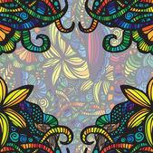 Modern colorful invitation card. — Stock Vector