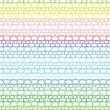 Lace seamless crochet pattern. Vector background. — Stock Vector