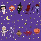 Halloween character. — Stock Vector