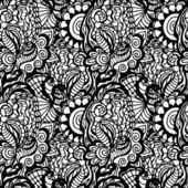 Hand drawn seamless pattern — Stock Vector