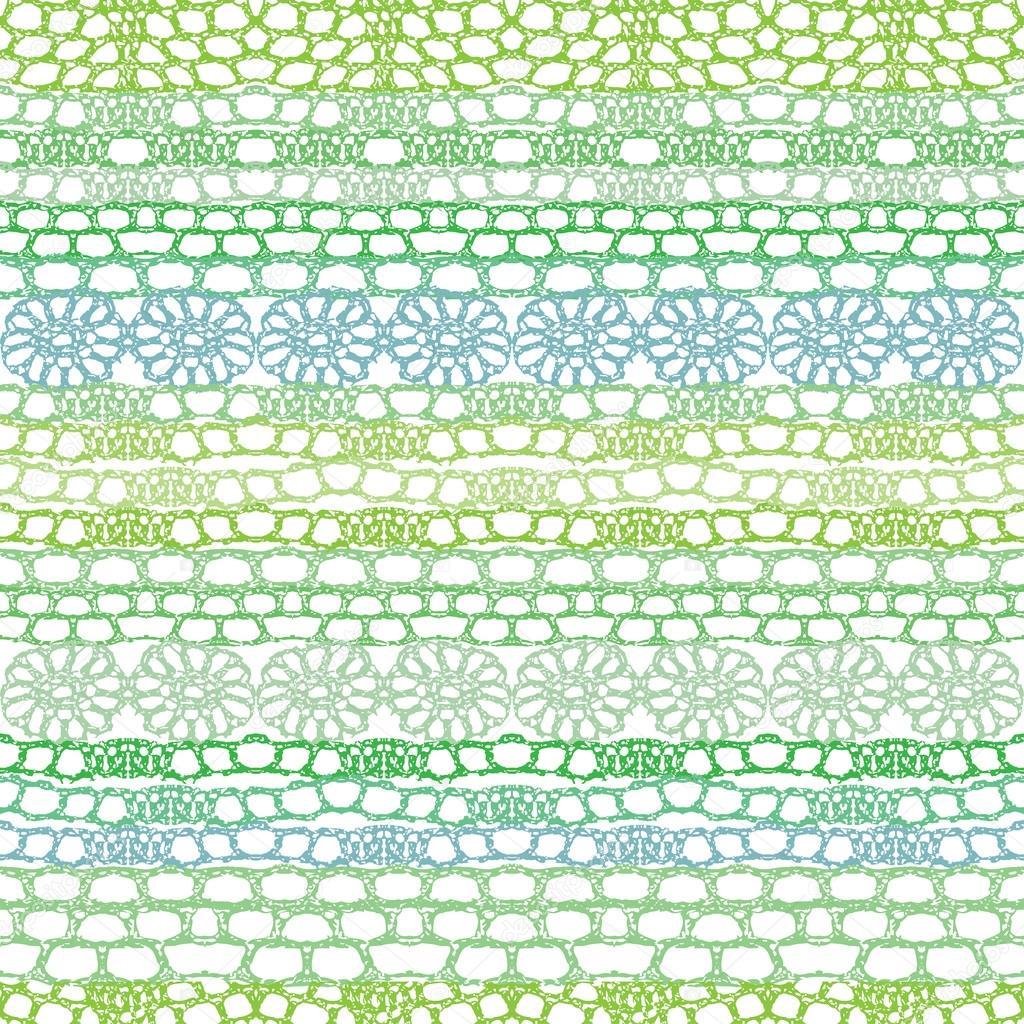 Crochet Patterns Vector : Lace seamless crochet pattern. Vector background. ? Stock ...