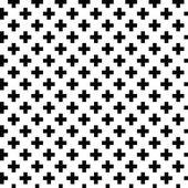 Monochrome elegant seamless pattern — Stock Vector
