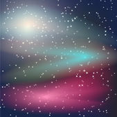 Vector space background — Stock Vector