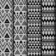 Set of four patterns. — Stock Vector #36986393