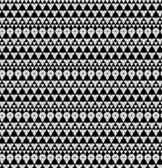 Tribal monochrome lace. — Stock Vector