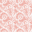 Lace seamless pattern with flowers — Stock Vector #39791295