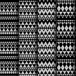 Set of four patterns. — Stock Vector #39791461