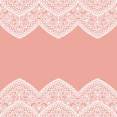 Lacy vintage background. — Vector de stock