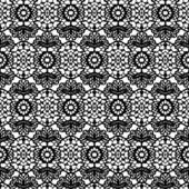 Кружевной черный фон — Cтоковый вектор