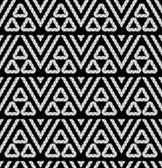 Tribal monochrome texture — Stock Vector