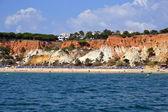 Beach Falesia, Algarve — Stock Photo