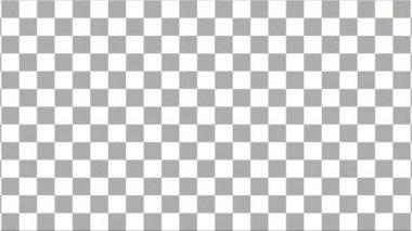 Black and white square diagonal left-up background — ストックビデオ