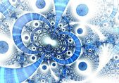 Abstract fractal on the white background — Stock Photo