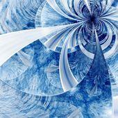 Colorful fractal flower pattern — Stockfoto