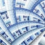 Colorful fractal clockwork, abstract gears digital artwork — Foto de Stock