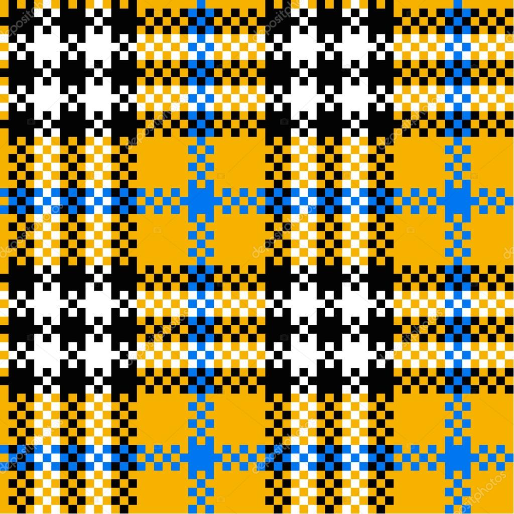 Seamless plaid pattern — Stock Vector #12030903
