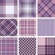 Plaid patterns — Stock Vector #13203694