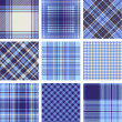 Plaid patterns — Stock Vector #13564312