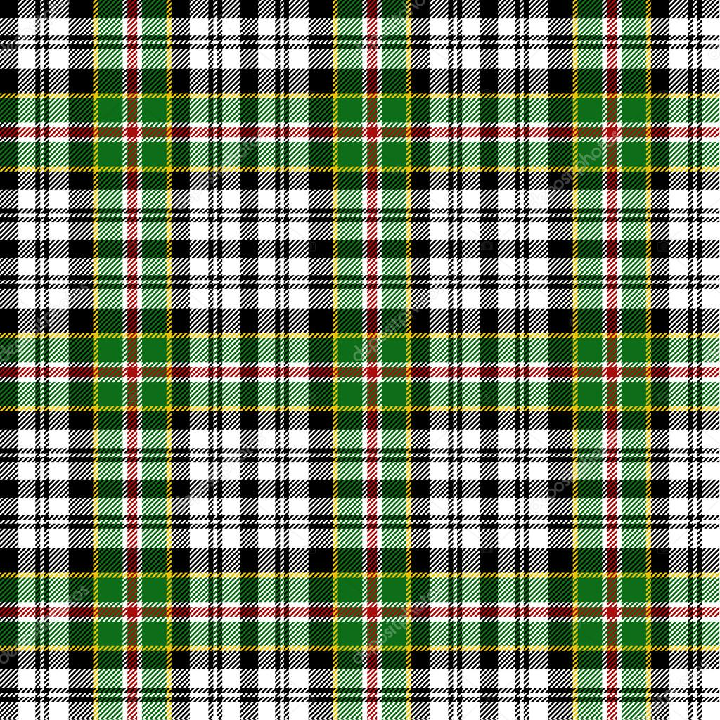 Seamless tartan pattern  Image vectorielle #13564316