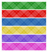 Abstract color banners — Stock Vector